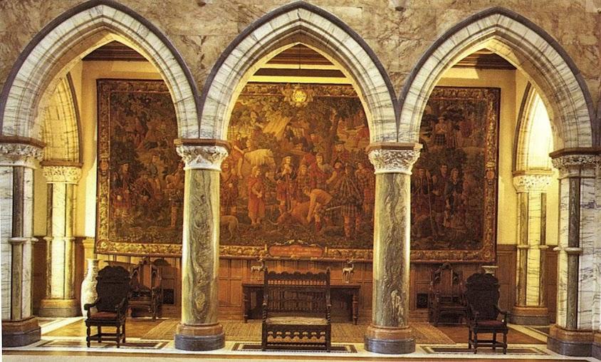 Castelo de Mount Stuart, Escócia. Catedrais medievais