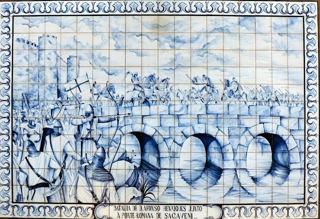 Batalha de D. Afonso Henriques, Sacavém. As Cruzadas