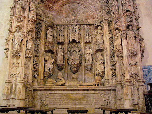 Túmulo de Afonso I de Portugal, Coimbra ©Fulviusbsas. As Cruzadas