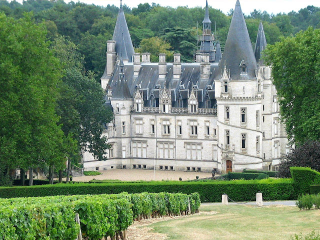 Nozet, castelo na Borgonha, Franca
