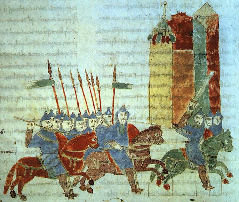 Cavaleiros alemães, anônimo ano 1000