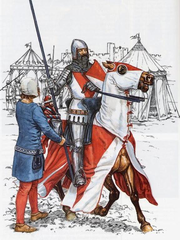 Cavaleiro, desenho