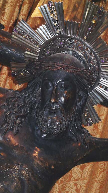 Cristo miraculoso de Lepanto, catedral de Barcelona