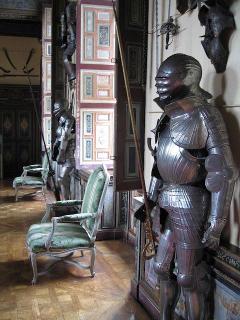 Cheverny, armadura