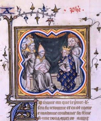 Rei Filipe I da França e o Papa Pasqual II