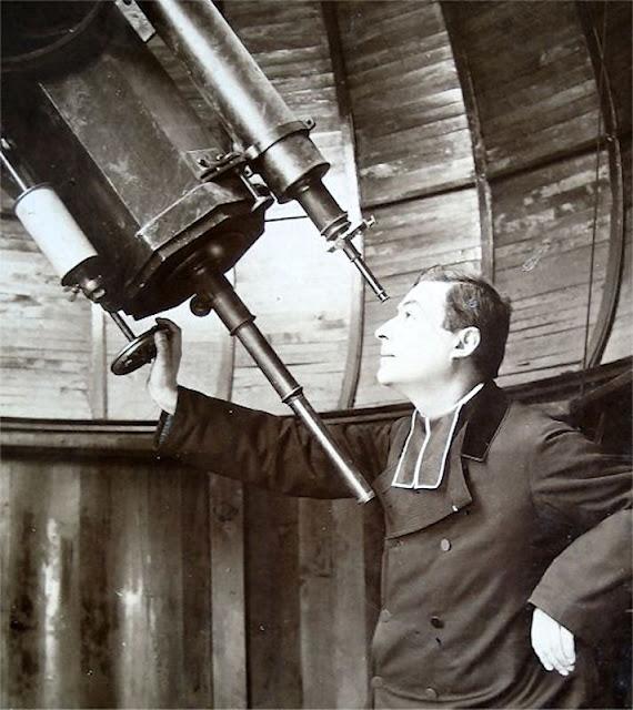 Padre Théophile Moreux no observatório