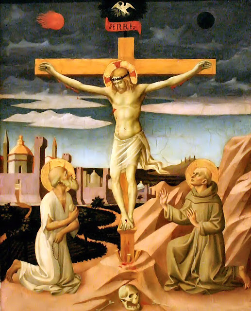 Crucifixão, Pesellino, National Gallery of Art, Washington