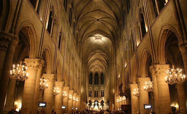 Notre-Dame, nave central