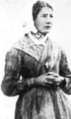 Mélanie em 1848