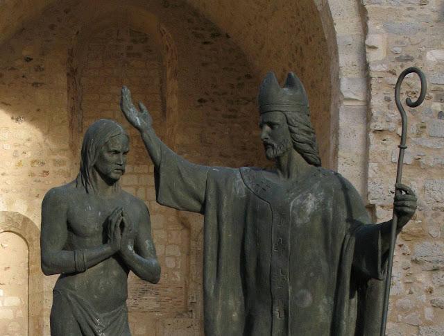 Batismo de Clovis, Reims