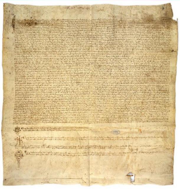 Pergaminho de Chinon: o Papa Clemente V exonerou de culpa os templários