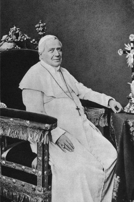 Beato Pio IX, foto que perteneceu a Don Bosco