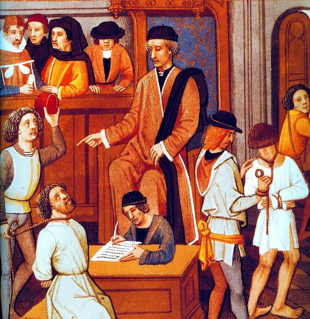 Tribunal penal na Idade Média