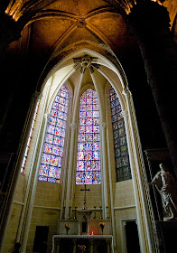 Catedral de Chartres: capela lateral