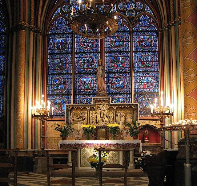 Notre Dame de Paris, capela do Santíssimo Sacramento