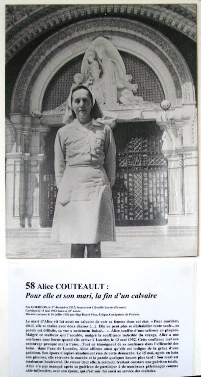 Alice Couteault: um dos milagres estudados e aprovados
