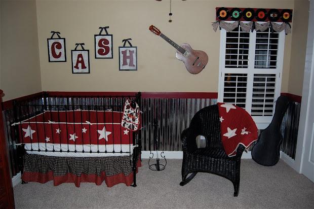 Music Theme Baby Room
