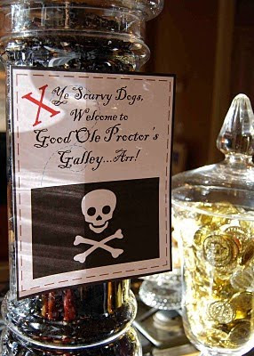 Adult pirate party decorations - photo#46