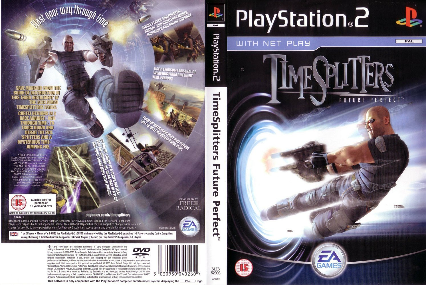 TimeSplitters: Future Perfect - ps2 - Multiplayer.it