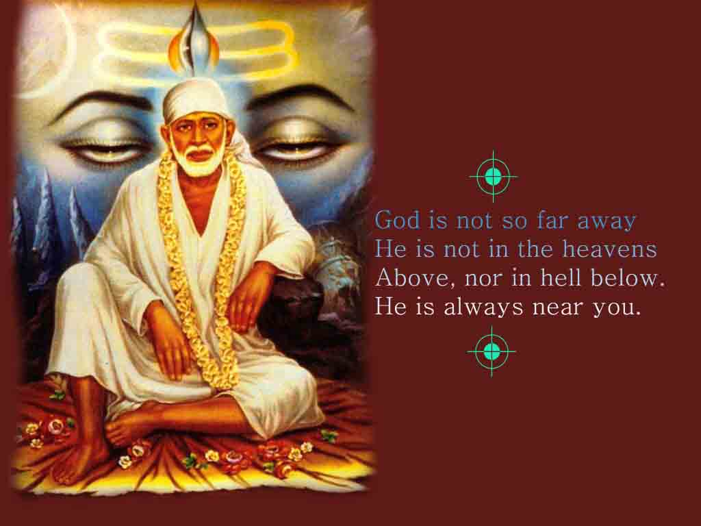 Om Sai Ram Shiva Sai God
