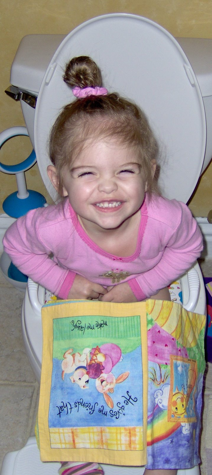 The Jolley Trolley: Big Girl Potty Moments!