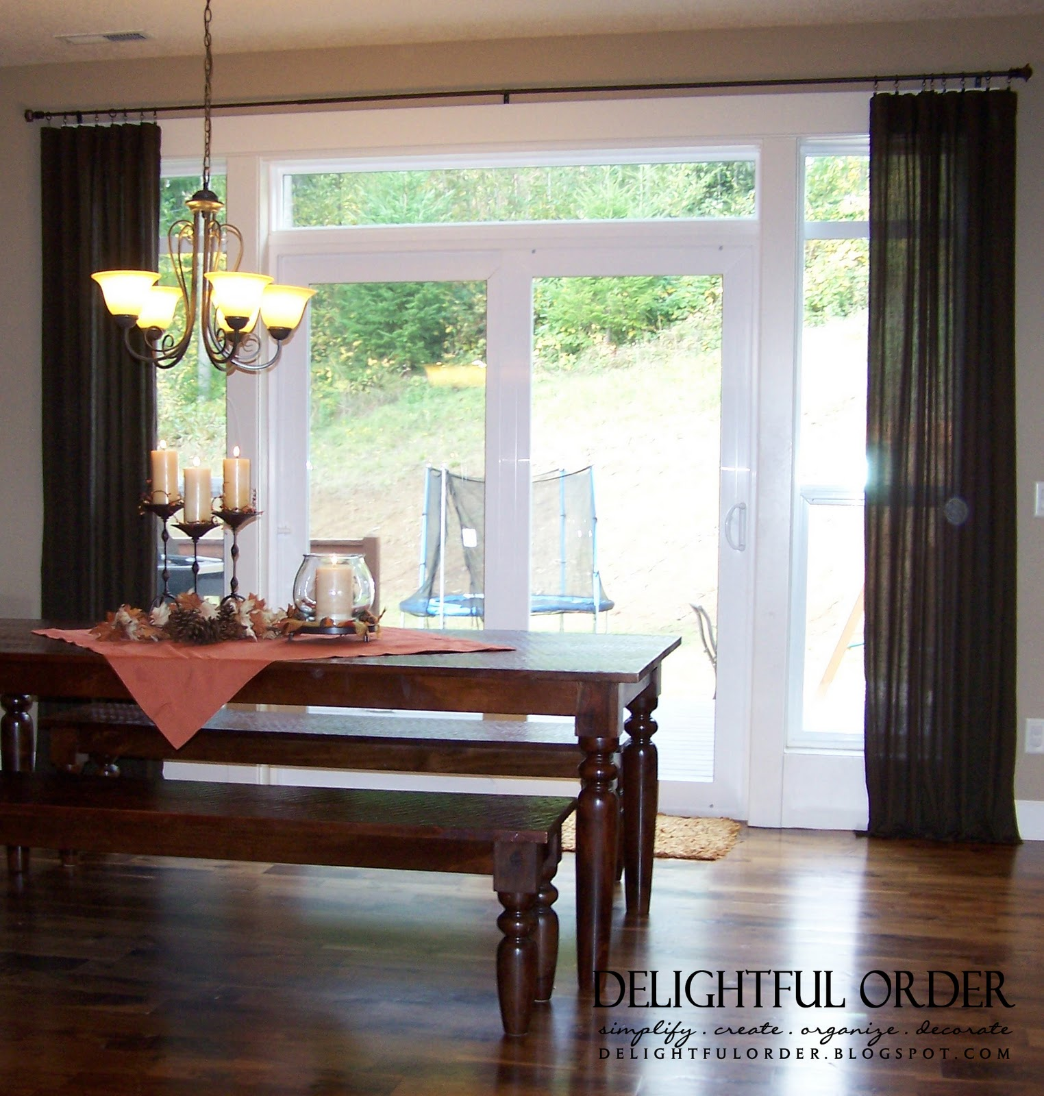 Home Makover: Delightful Order: Home Makeover -Part III- Kitchen/Dining Area