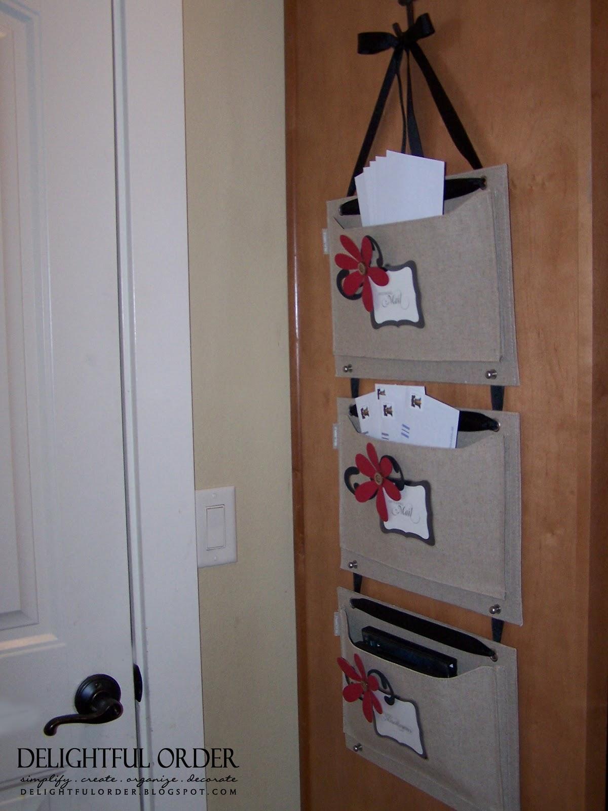 Paperwork Organizer: Delightful Order: Mail Organizer