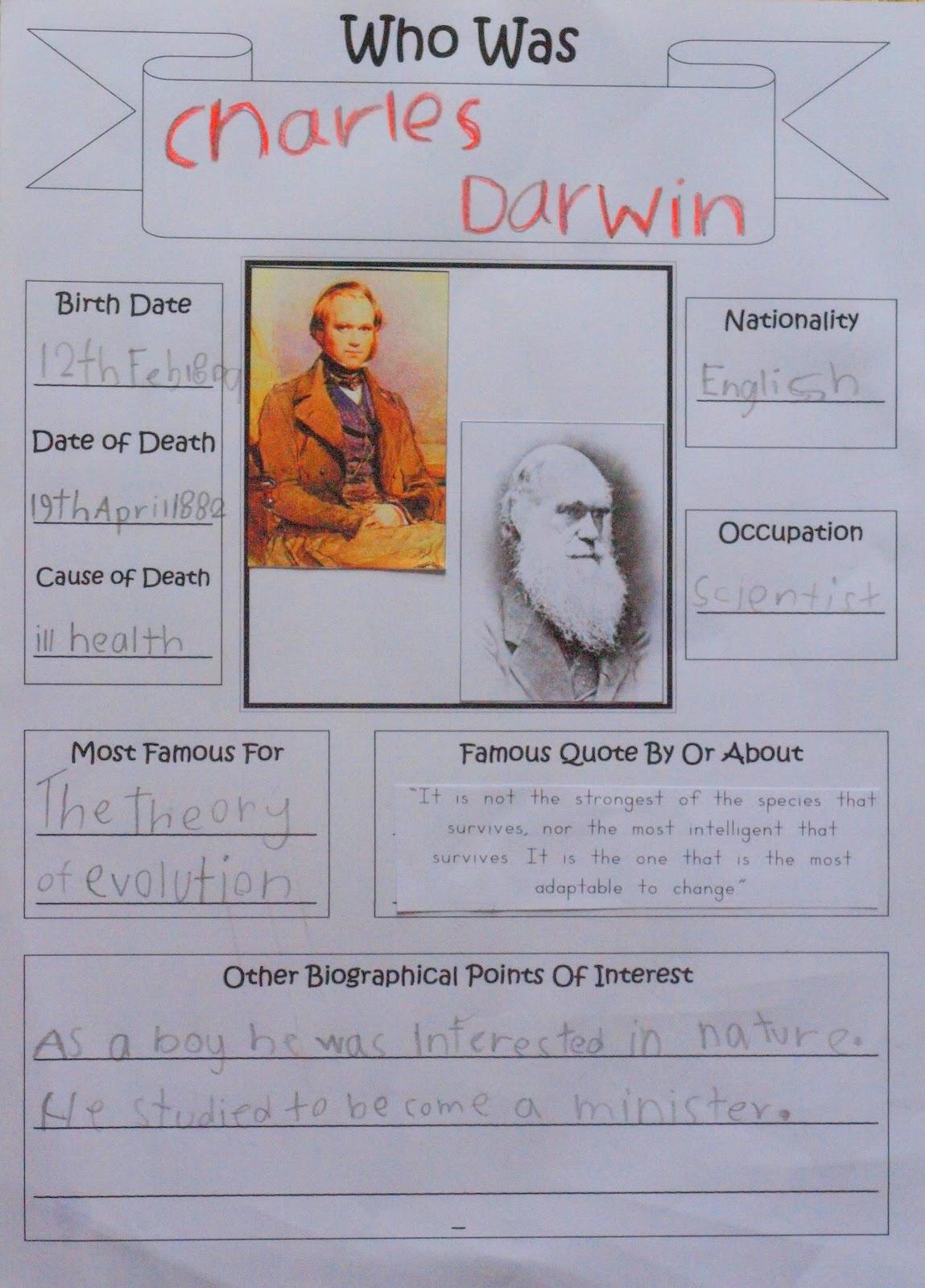 Our Worldwide Classroom Way Back When Charles Darwin