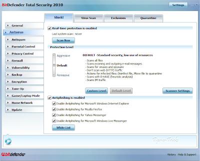 BitDefender-Total-Security-2010-Beta2-screenshot-Advance-Mode