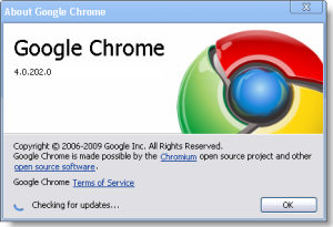 Download Google Chrome 4 Offline Installer