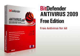 Download BitDefender Antivirus 2009 FREE Edition