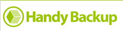 handy backup logo