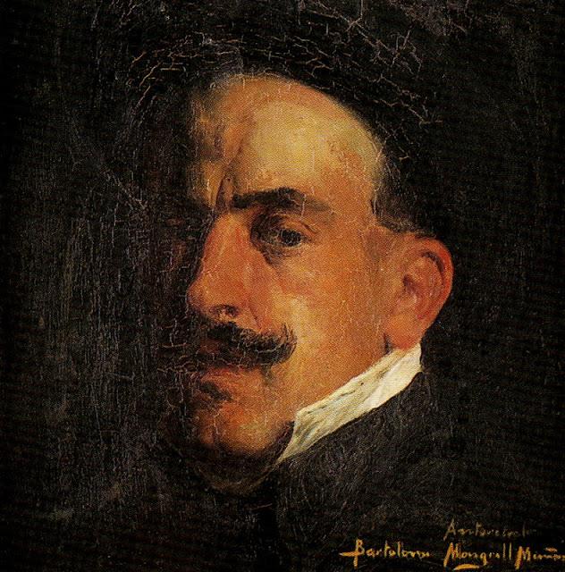 Bartolomé Mongrell Muñoz, Maestros españoles del retrato, Pintor español, Pintores españoles, Retratos de Bartolomé Mongrell, Bartolomé Mongrell, Autorretrato