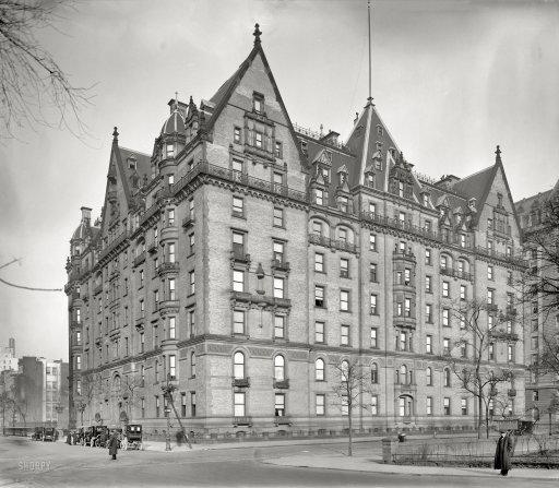 Apt New York: History Thru The Lens: The Dakota: 1912