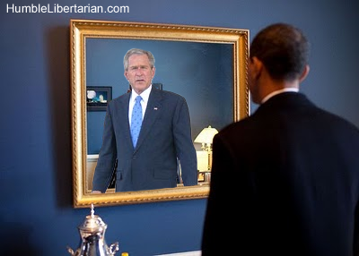 Image result for Obama Blame on Bush, Iraq War