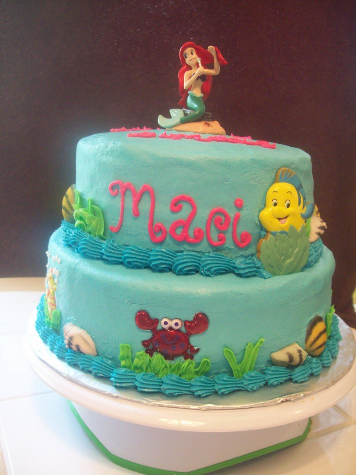 Bb Cakes Ariel Cake