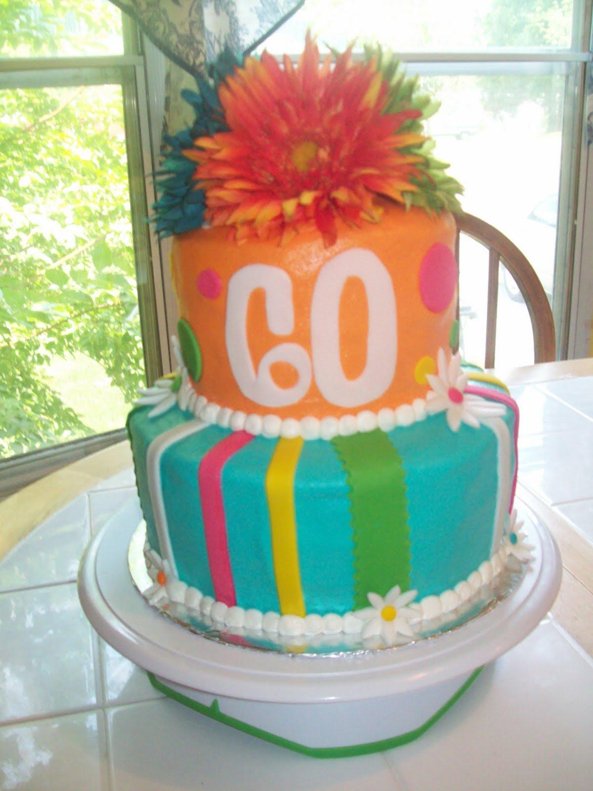 Bb Cakes 60th Birthday Cake