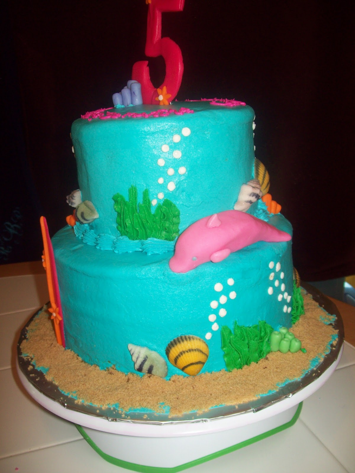 Bb Cakes Barbie Mermaid Tale Cake
