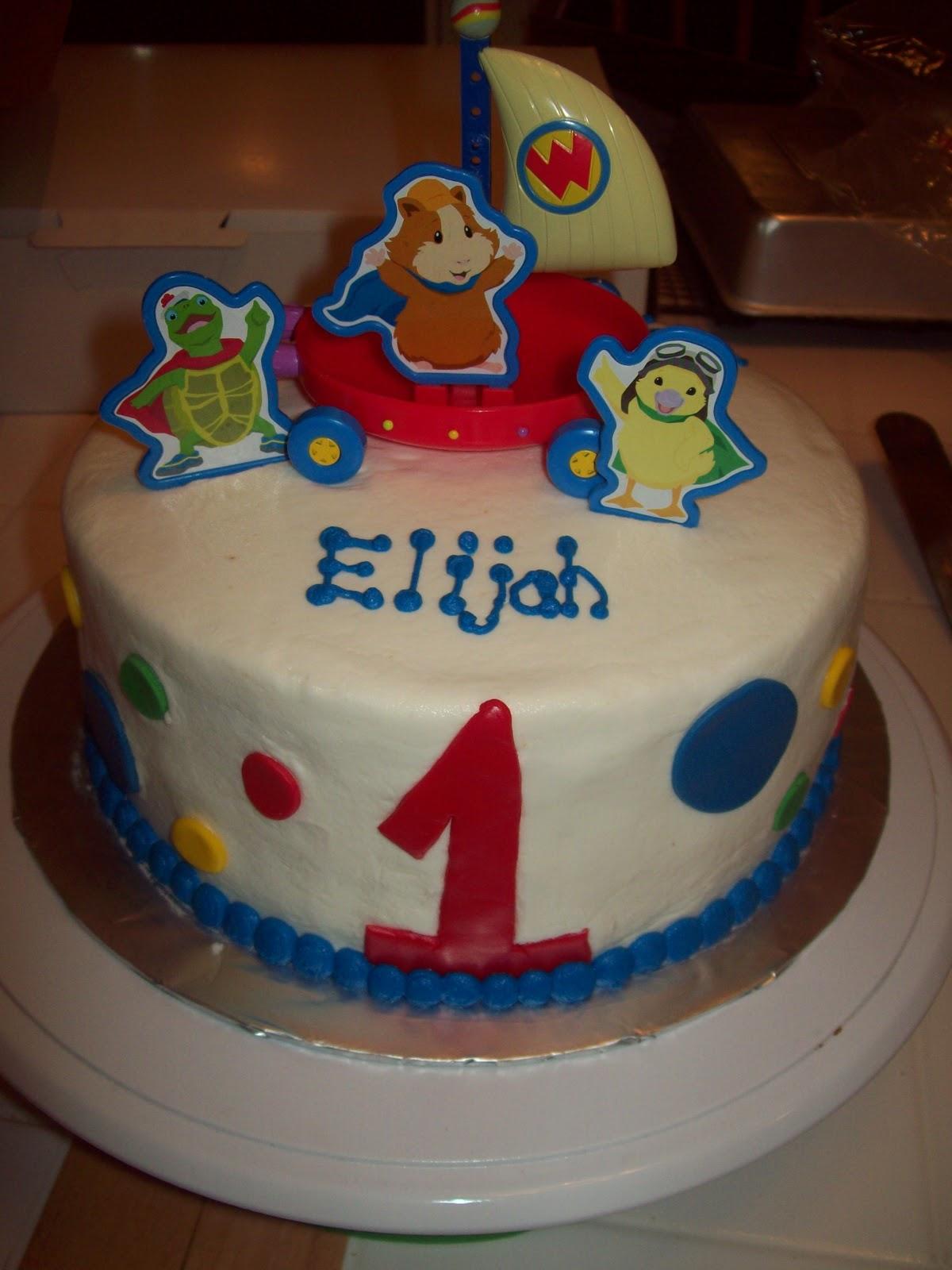 Wonder Pets Cake Decorating Kit