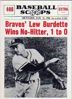 Cardboard Junkie 1961 Nu Cards Baseball Scoops Braves Team Set