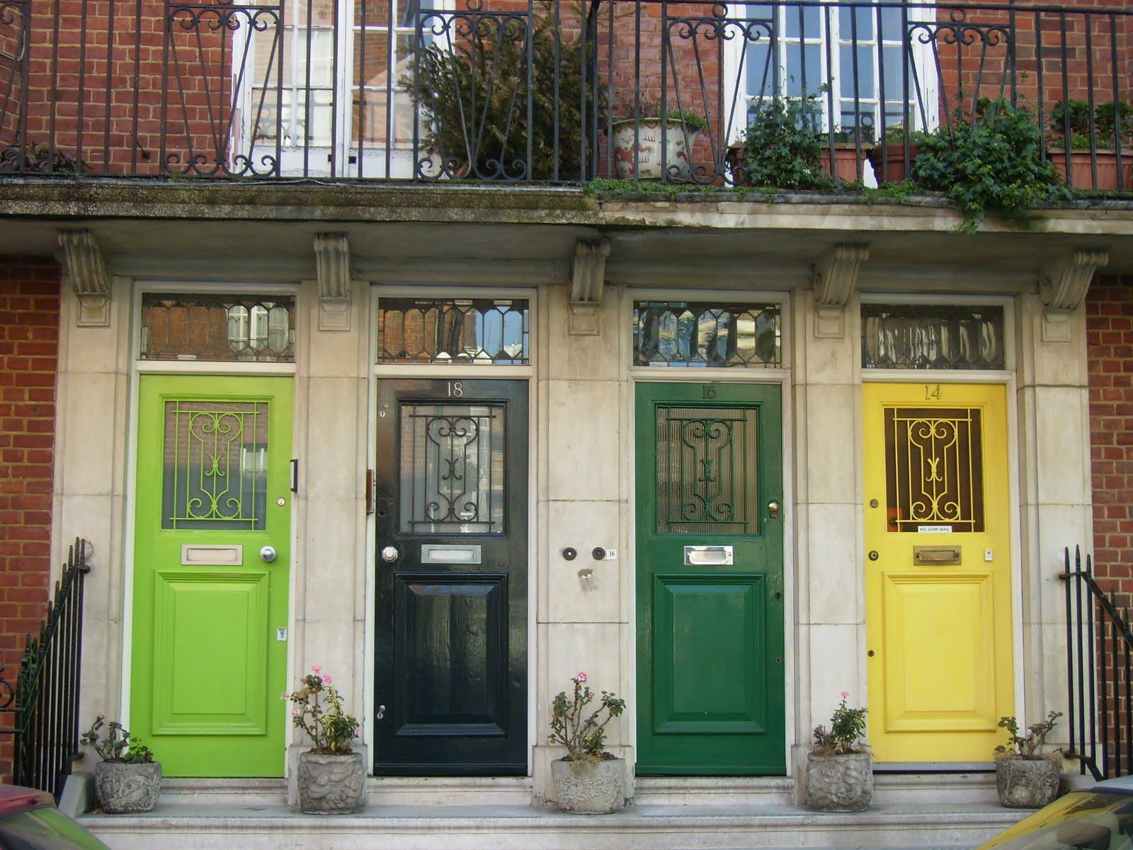 Exterior Door Colors: Freckle Face Girl: Shut The Front Door