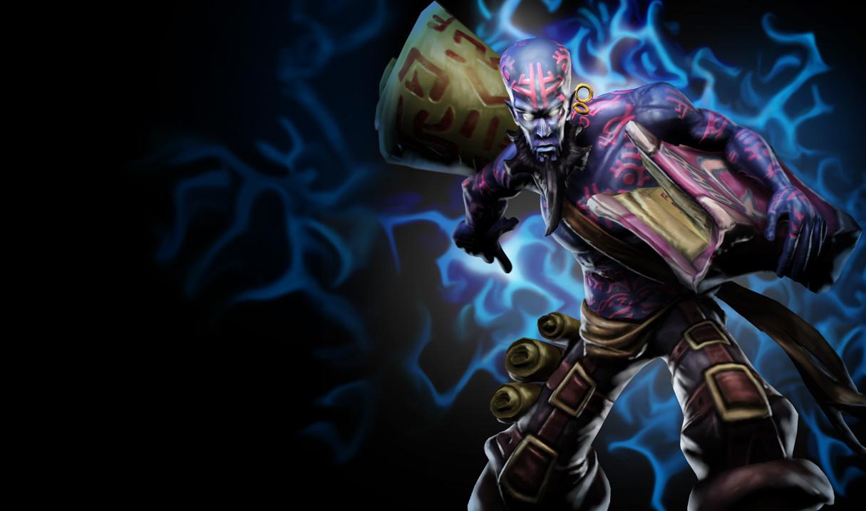 League of Legends Wallpaper: Ryze - The Rogue Mage