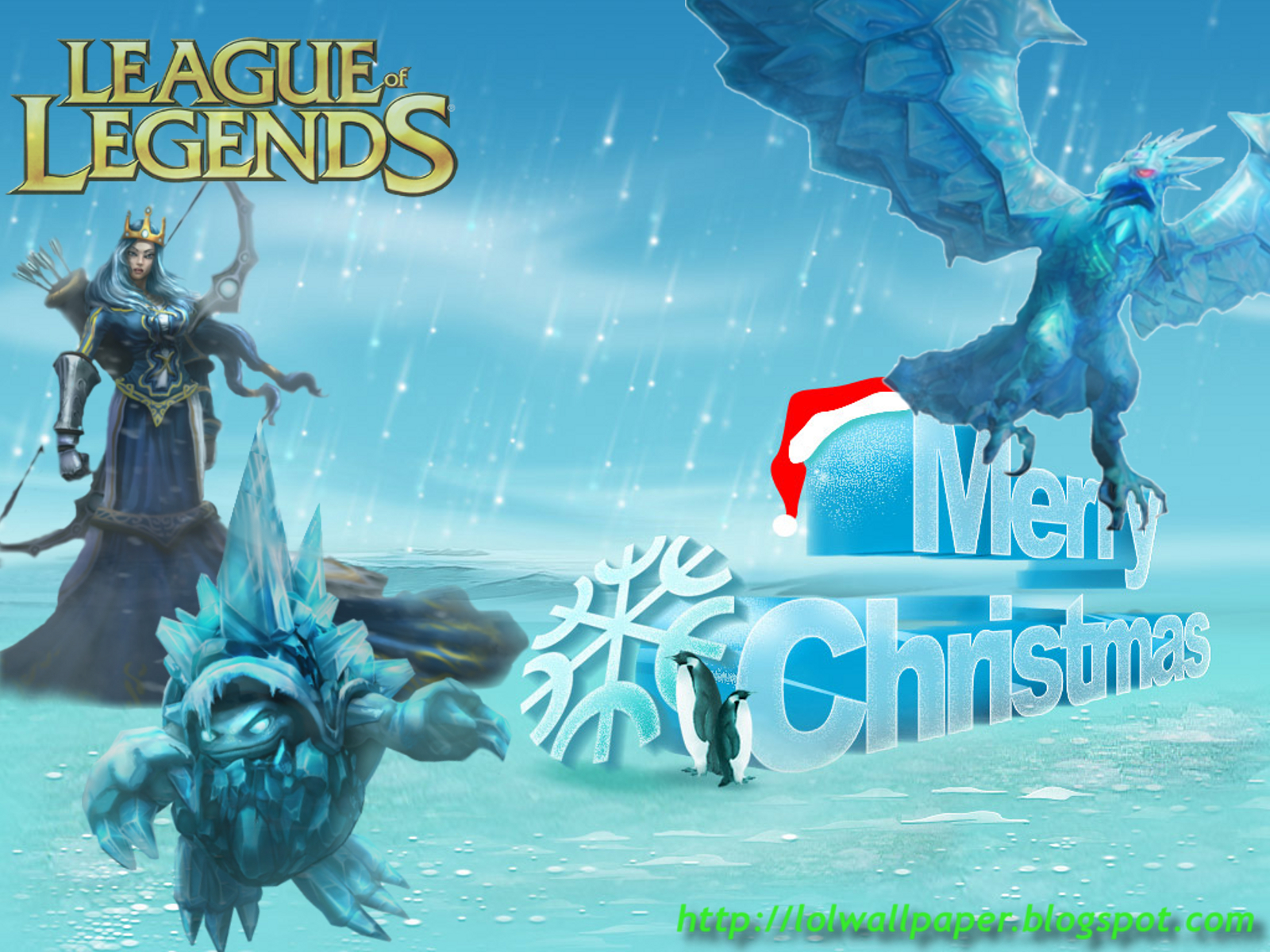 League Of Legends Wallpaper League Of Legends Christmas Wallpaper