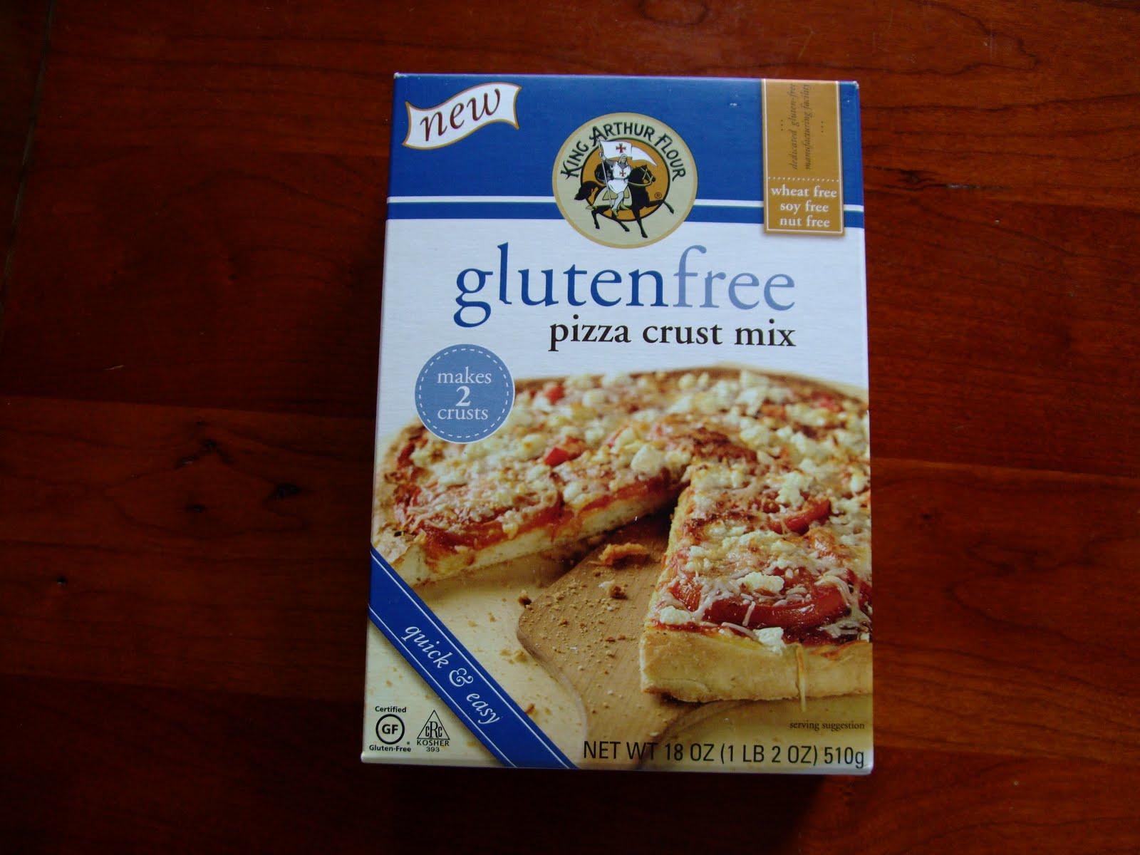 king arthur gluten free pizza crust