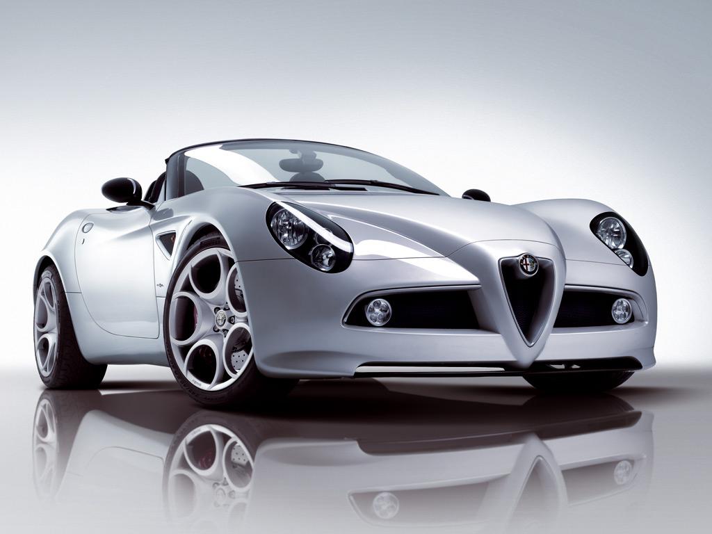 Sport Car Alfa Romeo 8c