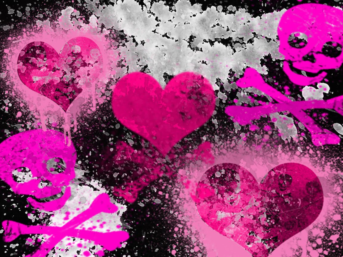girly gothic backgrounds and wallpaper - photo #3