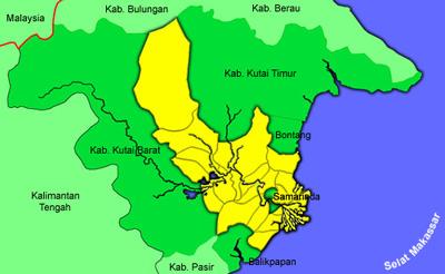 Samarinda City :): SEJARAH KABUPATEN KUTAI KARTANEGARA