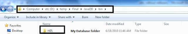 Java by examples: How to Run JavaDB without using Netbeans?