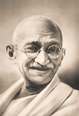 The five personal objects included the iconic round eye glasses of Mahatma Gandhi