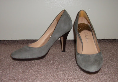 Obsession: Grey Suede Shoes